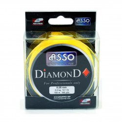 NYLON DIAMOND CARRE JAUNE