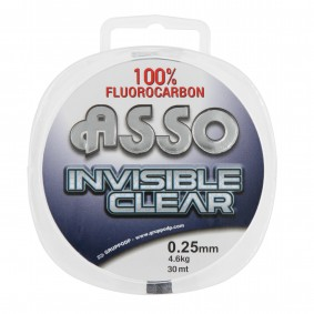 asic28tr asso Invisible clear 28 100 fil nylon tresse flashmer
