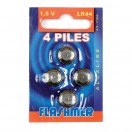 PILES ALCALINES - LR44 - FLASHMER